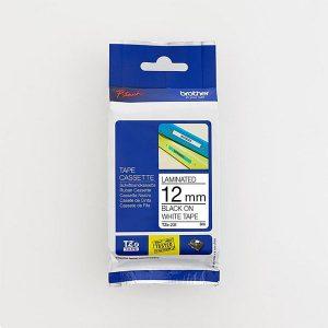 Brother TZe-231 12mm Black on White TZ Tape