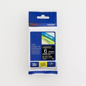 Brother TZe-315 6mm White on Black TZ Tape