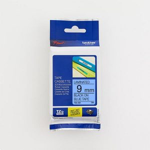 Brother TZe-521 9mm Black on Blue TZ Tape