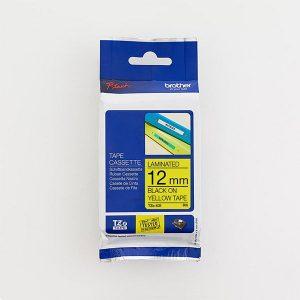 Brother TZe-631 12mm Black on Yellow TZ Tape