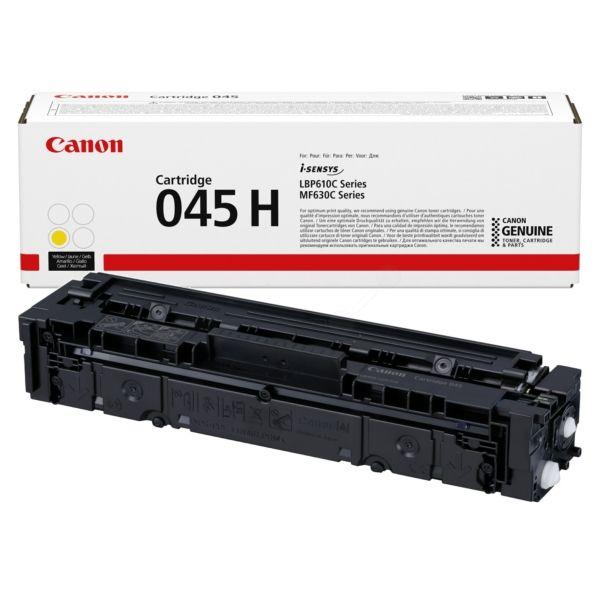 Canon 045H High Yield Yellow Toner Cartridge