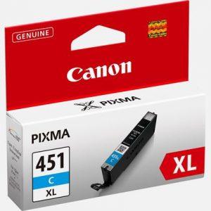 Canon 451XL Cyan Ink Cartridge