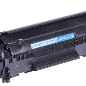 Generic HP 12A (Q2612A) - Canon 703 - Canon FX10 Black Toner Cartridge