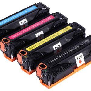 Generic HP 131A (CF212A) – HP 125A (CB542A) – HP 128A (CE322A) – Canon 731 – Canon 716 Yellow Toner Cartridge