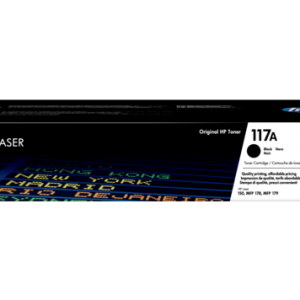 HP 117A (W2070A) Black Original Laser Toner Cartridge