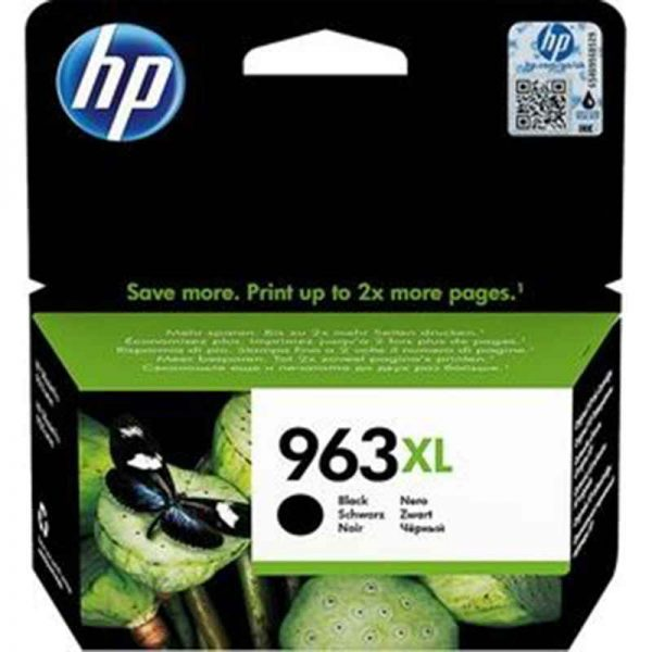 HP 963XL High Yield Black Original Ink Cartridge