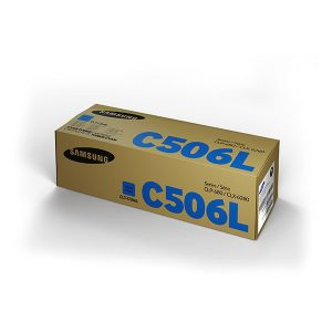 Samsung CLT-506L High Yield Cyan Toner Cartridge (SU040A)