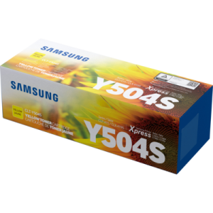 Samsung CLT-504S Yellow Toner Cartridge (SU504A)
