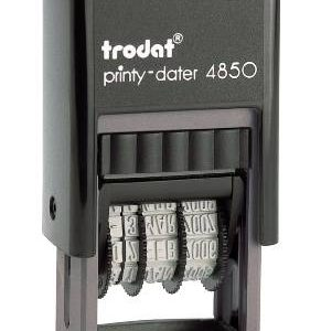 Trodat 4850 Self-Inking Dater Stamp
