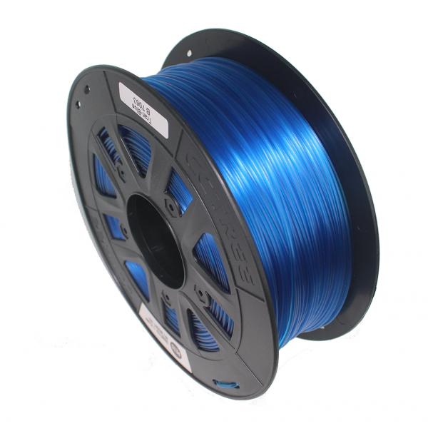 CCTREE Transparent PLA Blue, 1.75mm, 1kg